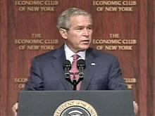 Bush Praises N.C. Community Colleges' Economic Help