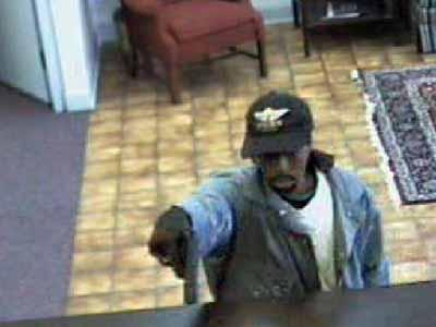 Surveillance video captured this image of one of the suspects.