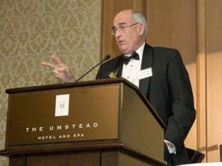 Jim Goodmon receives Design Guild Award. (photo courtesy of KC Ramsay)