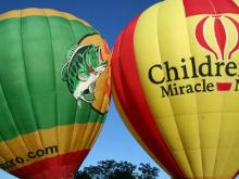 Proceeds from this weekend's events benefit the Children's Miracle Network.