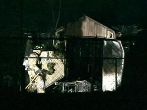 Witnesses report loud noises as Raleigh utility buildings catch fire