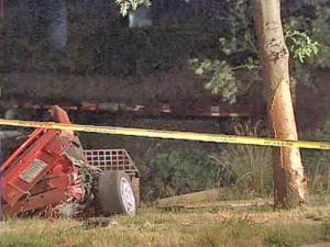 Alton Brothers, 25, and Jamie Alesia Shepherd, 25, died when Brothers lost control of a 2001 Ford Mustang on Capital Boulevard early Sunday, June 8, 2008. The vehicle hit a tree near Crabtree Boulevard and broke in half.