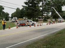 Durham power, phone lines pulled down