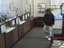 An image of the suspect taken by a surveillance camera. (photo courtesy of the Fayetteville Police Department)
