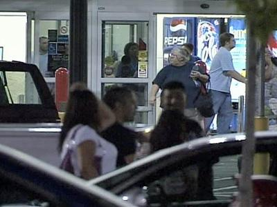 Wal-mart evacuated after shooting