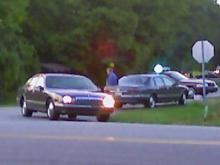 Police on the scene of a shooting at of New Sharon Church Road and Bill Poole Road in Orange County on Aug. 2, 2008.