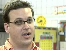 Knightdale Elementary School Principal Michael Williams talks about the start of the 2007-08 school year in this WRAL file photo.