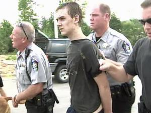 Police caught Michael Raymond Schumpelt, 16, after a foot chase through a subdivision in southern Wake County.