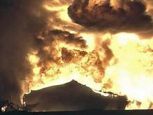 Tanker truck explodes on I-440