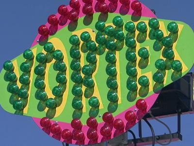 New this year at the North Carolina State Fair is the Vortex ride.