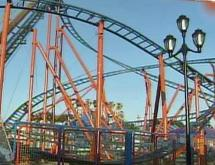 The RC-48 roller coaster at the State Fair on Oct. 15, 2008.