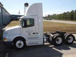 State Department of Correction officials believe three men who escaped from Morrison Correctional Institution in Richmond County stole a truck cab similar to this.