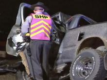One killed in pickup truck collision