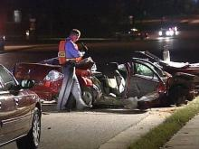 Police: Drunken Raleigh driver crossed six lanes, crashed