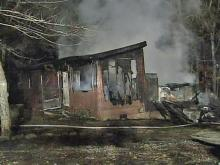 Propane-gas explosion injures man