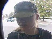 Raleigh police are searching for this woman, who is believed to be stealing people's bank card information from ATMs.