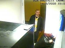 Chapel Hill police are trying to identify the men seen in security camera footage when vending machines were broken into at the Sheraton Hotel on Dec. 8, 2008.