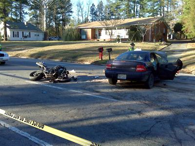 The state Highway Patrol is investigated a fatal wreck Thursday on Holloway Street and Chandler Road in Durham.