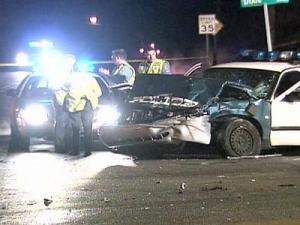 The crash happened just before midnight at the intersection of Wade Avenue and Dixie Trail in Raleigh.