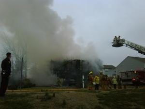 A Holly Springs home was totally destroyed by fire Monday, Jan. 5. (Submitted by: Thomas L. Babb)