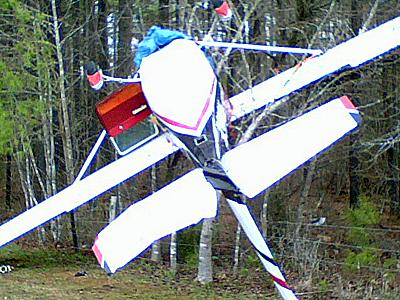 High winds flipped a single-engine plane at a small airport in Franklin County on Jan. 8, 2009.