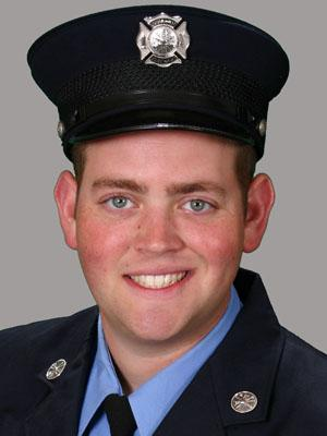 Rocky Mount firefighter Kerry Dennis (Image from the Rocky Mount Fire Department)