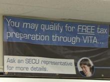 VITA programs provides free tax preparation