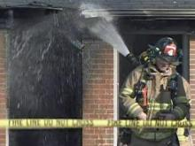 Firefighters battle Raleigh apartment complex fire