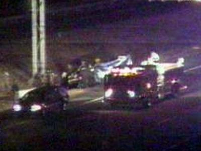 A traffic camera shows the fatal crash at U.S. Highway 15-501 and Hillsborough Road.