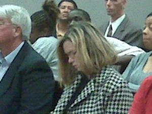 Author Kaye Gibbons pleaded guilty to charges on Tuesday, March 10, 2009.