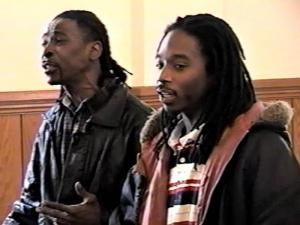 David Twitty, right, was photographed with his son, Travis Twitty, in 2009.