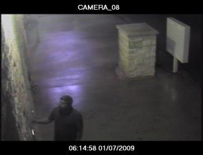Investigators say this man broke into the Super Clean Car Wash, 560 Sandhill Road. He vandalized coin machines, damaged doors and stole a pressure washer.