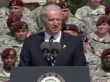 Biden welcomes Bragg troops back from Iraq