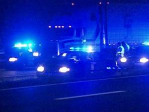 Raleigh police are searching for a driver involved in a fatal hit-and-run on Interstate 40 East at Gorman Street Sunday night.