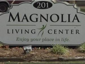 Authorities are investigating two reports of a male worker inappropriately touching two patients at Magnolia Living Center in Dunn.