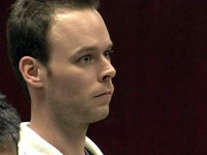 Chris Petersen during a court appearance on May 29, 2009.
