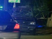 Officers were on the scene of a wreck involving a Raleigh police officer on May 30, 2009 on Athens Drive near Franklin Road in Raleigh.