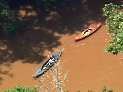 A group from The Living Word Family Church was boating from Uwharrie River's Low Water Bridge, near the Uwharrie National Forest,  when members were separated and called 911 Thursday, June 18, 2009.