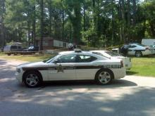 Wake County sheriff's deputies probe a fatal shooting Sunday at 3 Kelly Pine Court in Wake Forest.