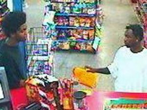 Durham police are trying to identify these men, who are accused of robbing the La Costena store at 324 West Geer Street on Monday, August 24, 2009.