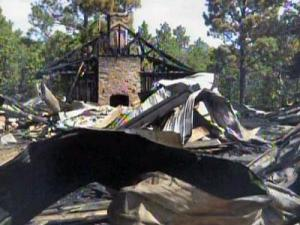The West End Scout Lodge burned down on Aug. 17.