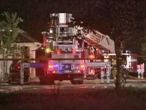 Raleigh firefighters were called out to a blaze at a club in the 2400 block of Paula Street around 5 a.m. Monday, police said.