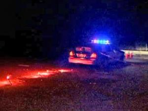Officers closed both sides of Rock Quarry Road as they handle a situation in which a person is barricaded in a building in the 3300 block early Thursday, Sept. 10, 2009, said Raleigh police spokesman Jim Sughrue.