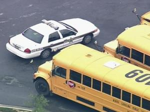 Police were called to Knightdale High School Tuesday morning.