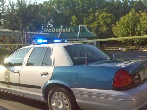 Raleigh police said that a McDonald's restaurant in the 3800 block of Lake Boone Trail was robbed around 5 a.m. Sept. 21, 2009. No one was injured.