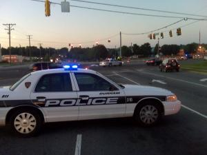 A pedestrian died early Tuesday while attempting to cross U.S. Highway 15-501 at Mt. Moriah Road in Durham, police said.