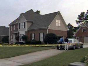 Authorities were on the scene of a near accidental drowning at 1032 Four Wood Drive in Fayetteville on Oct. 2, 2009.
