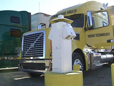 Truckers spending the night at Big Boys Truck Stop in Kenly can plug in to keep their heat or air running without idling their trucks.