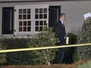 Officers were on the scene of a shooting at 314 West Park Drive in Fayetteville on Nov. 2, 2009.