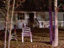Garner mobile home damaged in fire